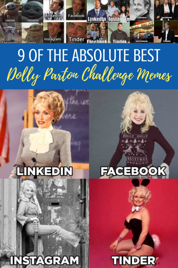 Dolly Parton Challenge Memes