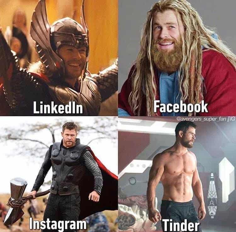 marvel avengers dolly parton challenge meme Thor