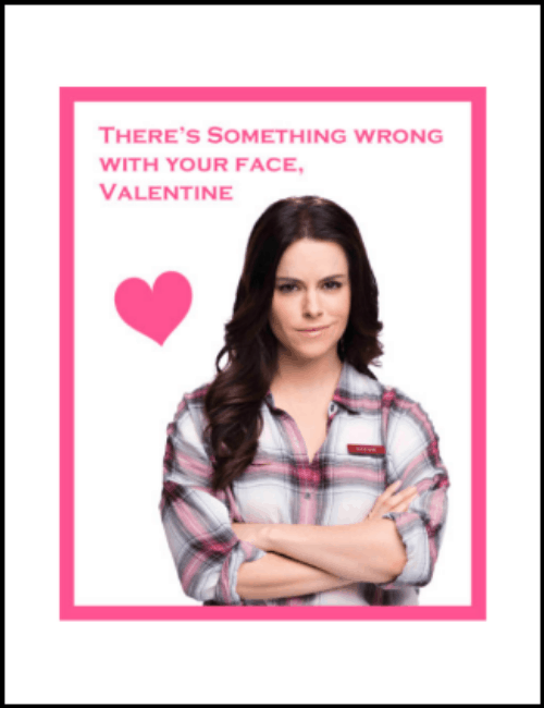 Stevie Schitt's Creek Valentine Card Printable PDF