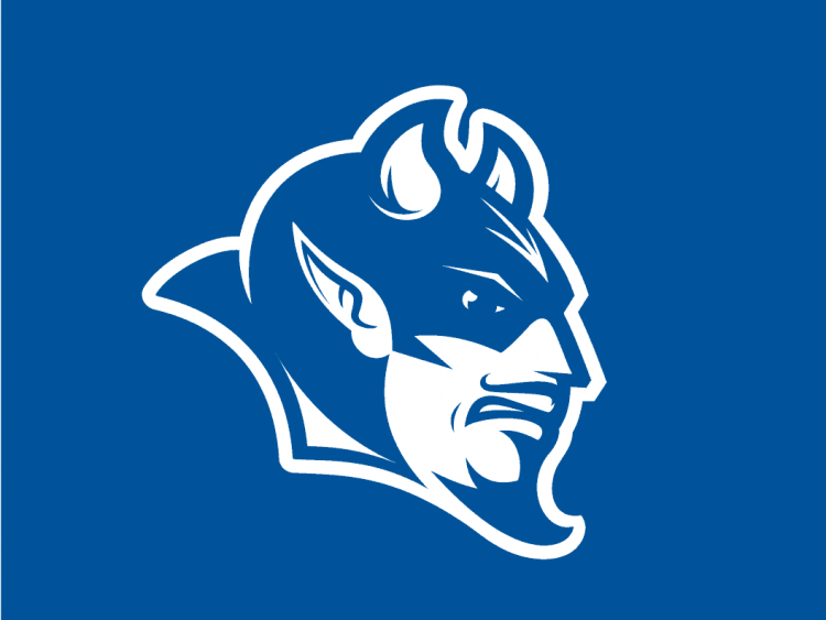 Blue Devil logo Sonic the Hedgehog