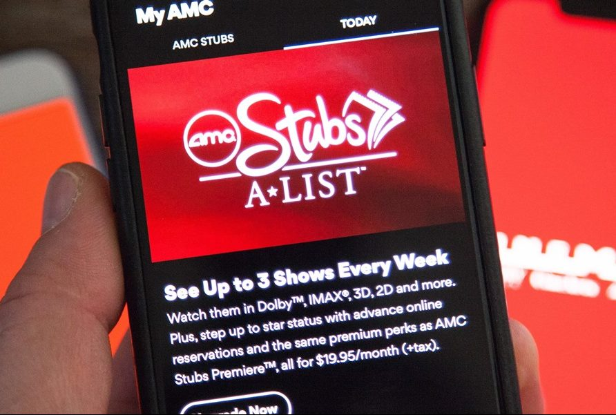 Amc A-list subscribers paused during AMC theater shut down
