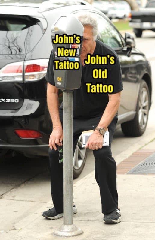 tiger king meme johns tattoo