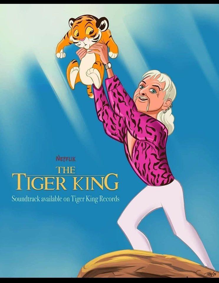 tiger king meme lion king