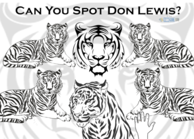 Can you find don lewis in this picture? Tiger King activity sheets