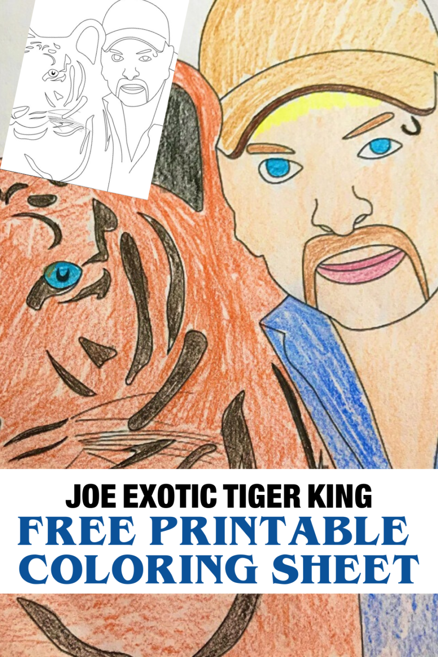 - Free Netflix Tiger King Coloring Pages And Activities