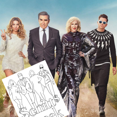 I'm Obsessed! Free Schitt's Creek Coloring Pages