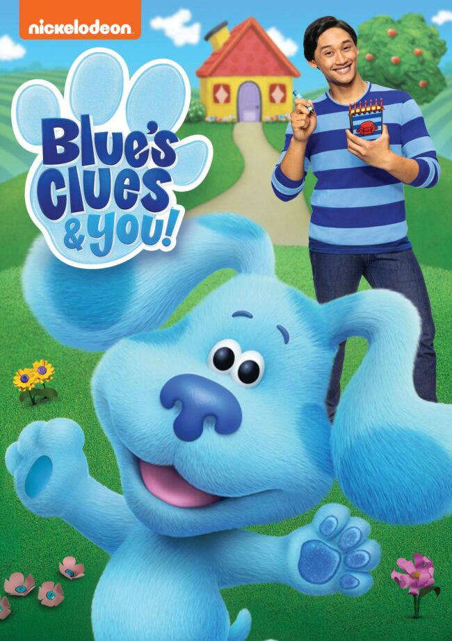 Blue's Clues and You poster