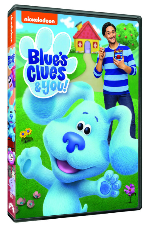 Blue's Clues and You on DVD at Walmart 6.2.20