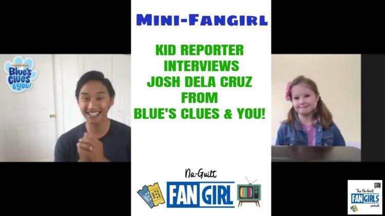 kid reporter josh dela cruz blues clues and you interview
