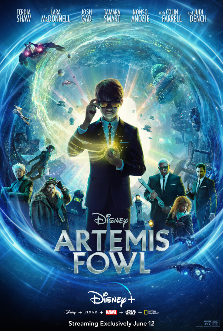 is artemis fowl safe for kids and kid friendly?