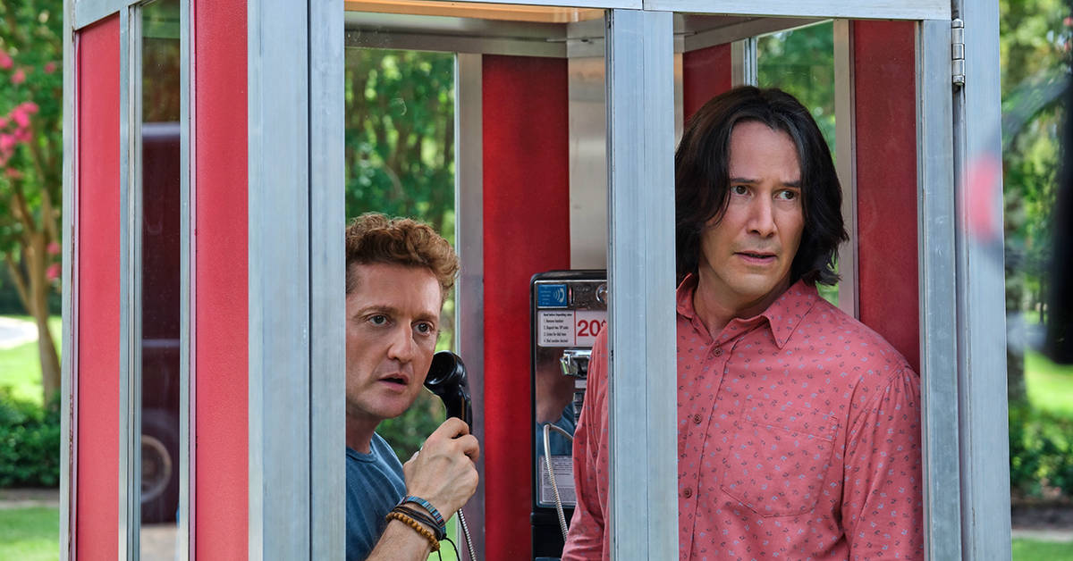 Bill and Ted Face the Music ok for kids parent movie review