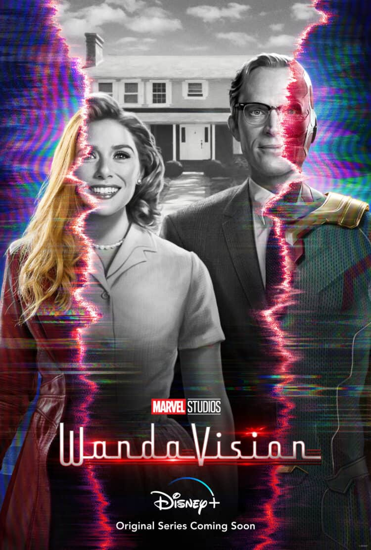 wandavision poster coming to disney plus