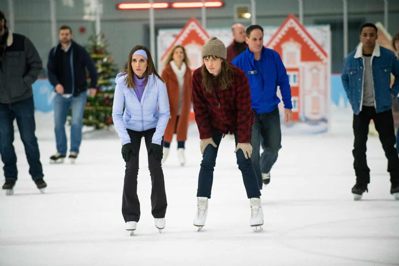 happiest season ice skating