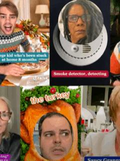 thanksgiving musical tiktok broadway stars