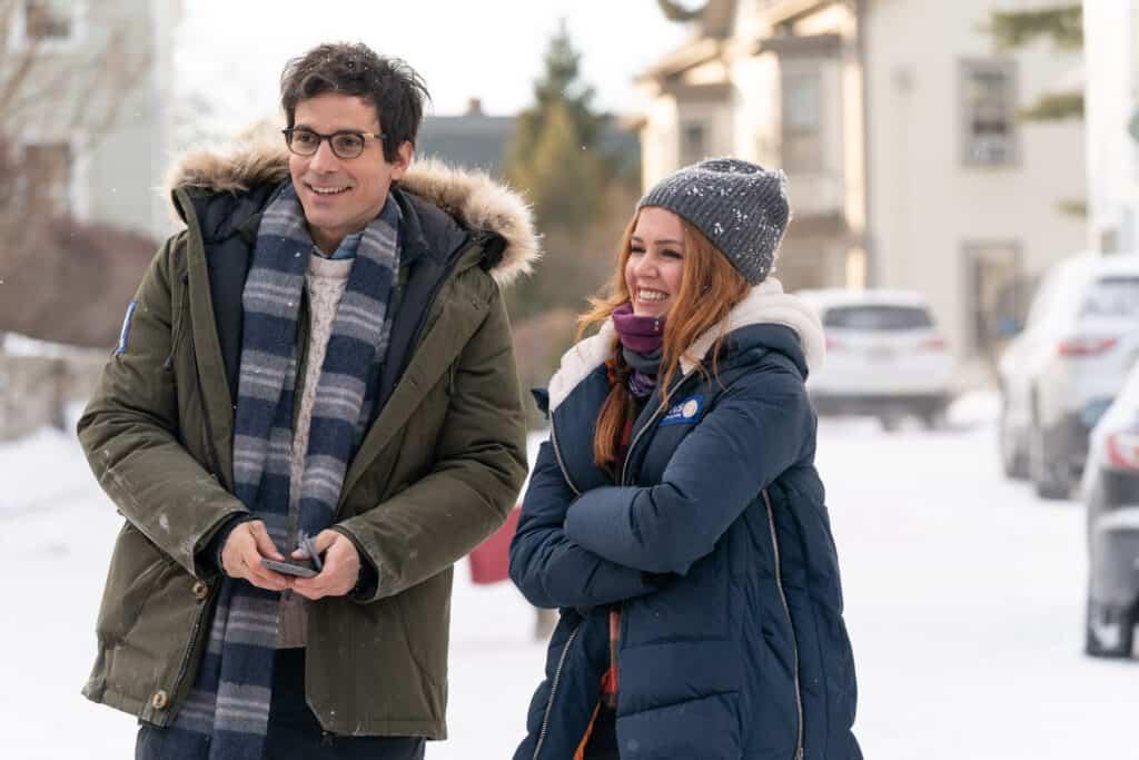 Santiago Cabrera as Hugh and Isla Fisher as Mackinzie Godmothered parent movie review