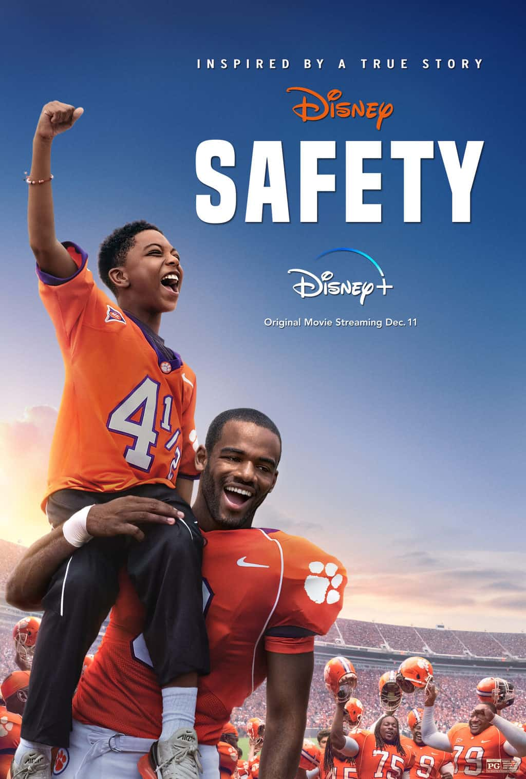 is safety ok for kids? Disney plus parent movie review
