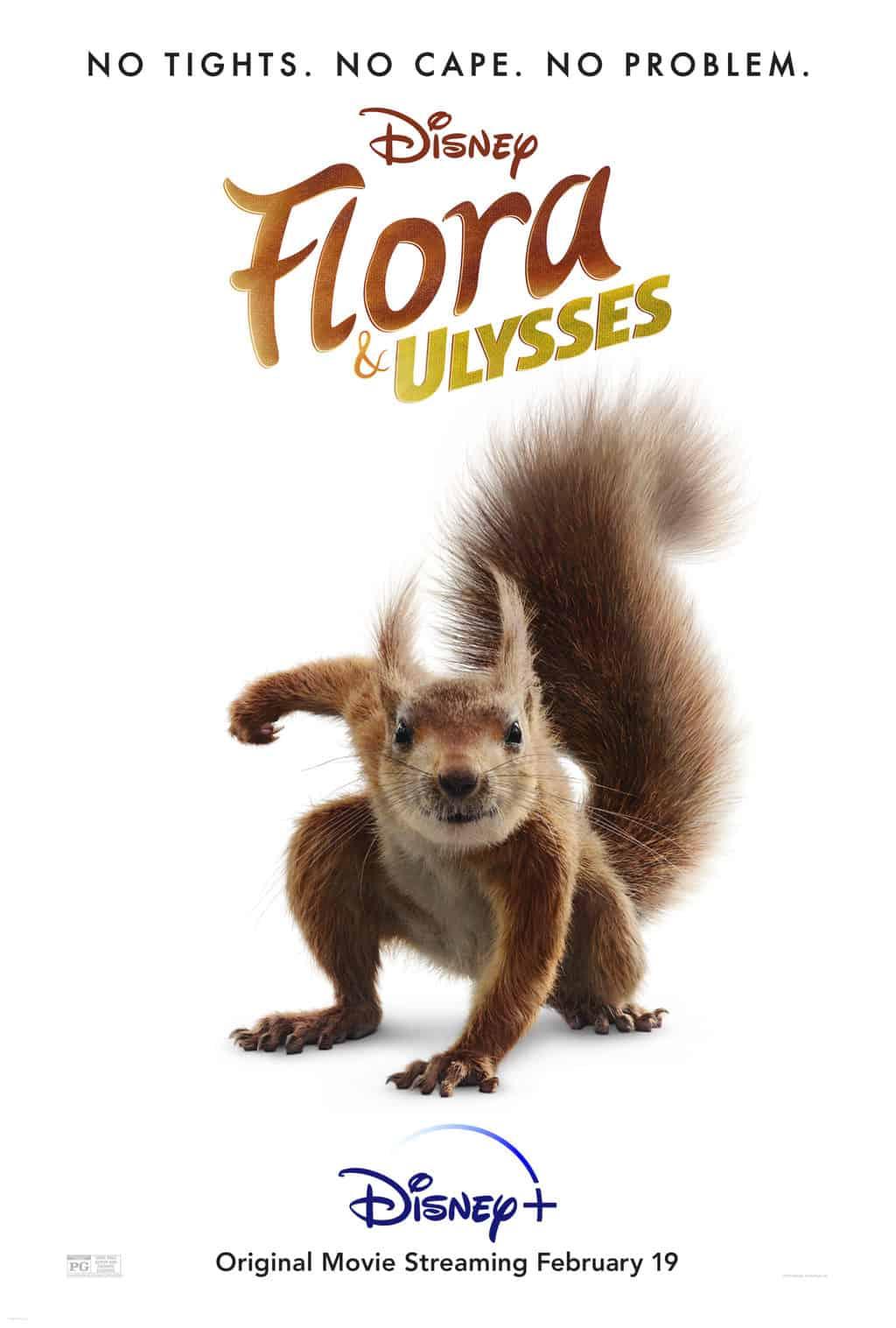 is flora and ulysses safe for kids movie poster