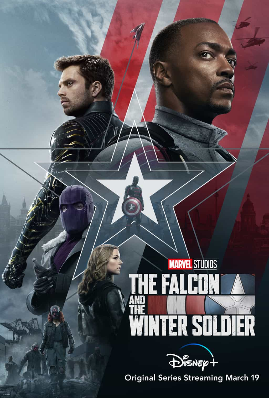 falcon and the winter soldier kid friendly movie poster