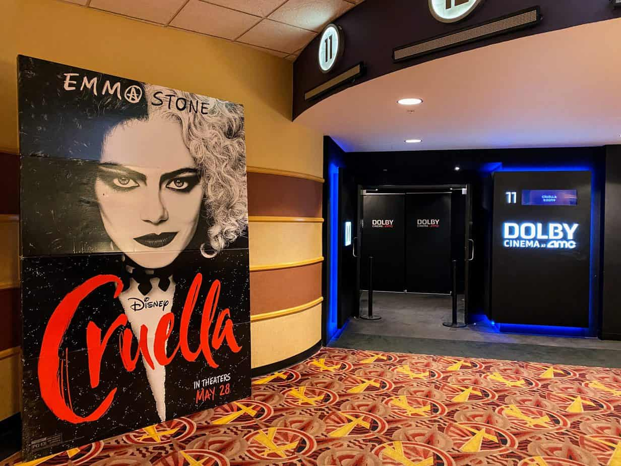 is cruella safe for kids at amc theaters