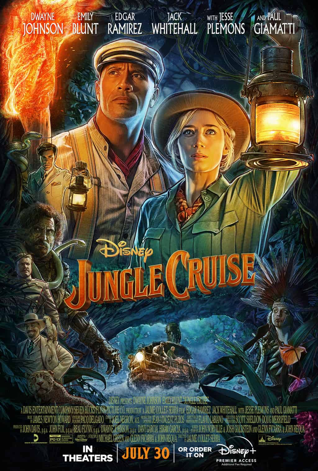 is the jungle cruise movie safe for kids