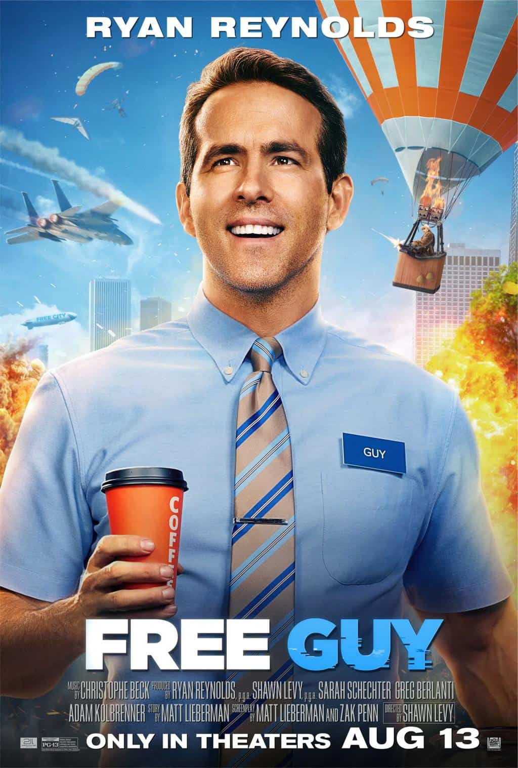 parent guide free guy movie poster