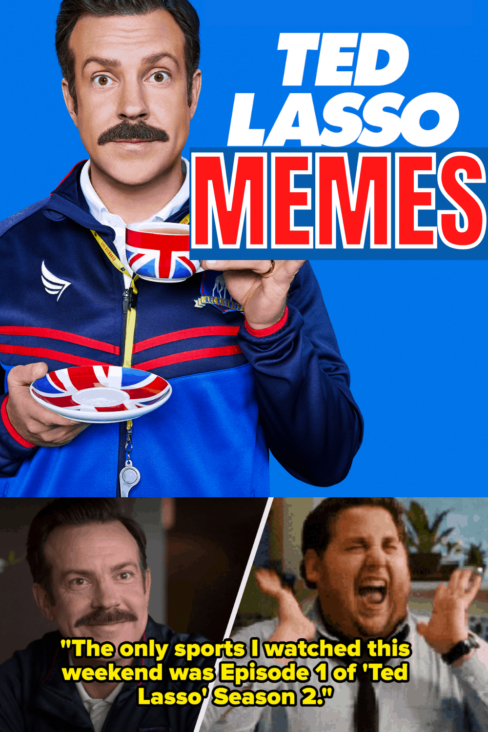 Collection of Ted Lasso Memes