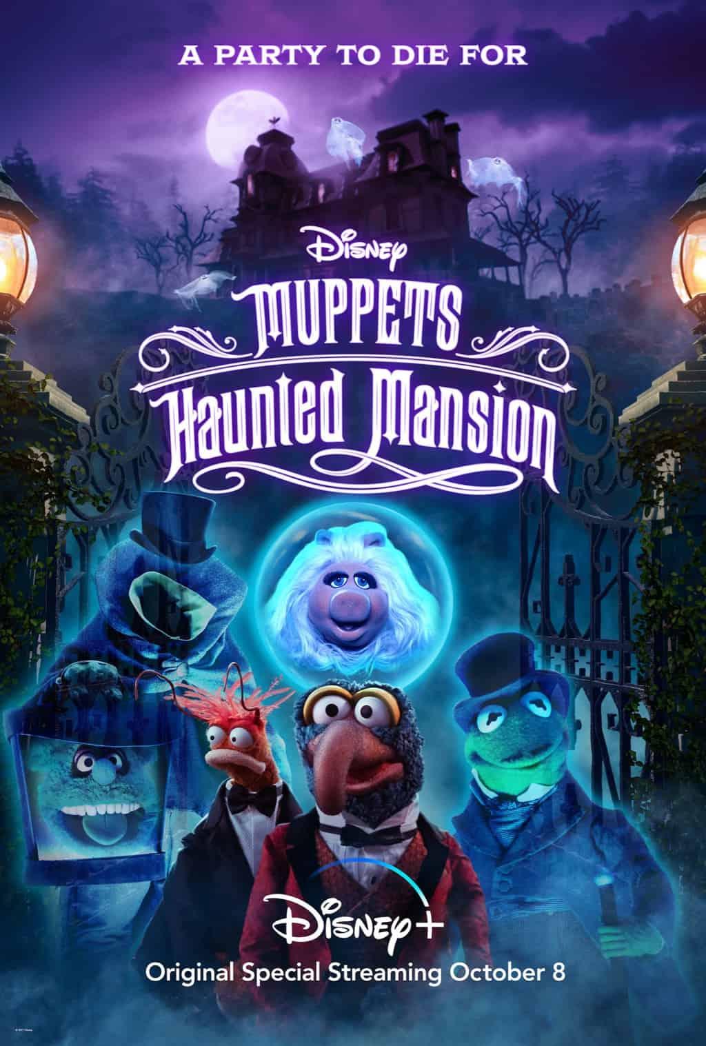 muppets haunted mansion disney plus