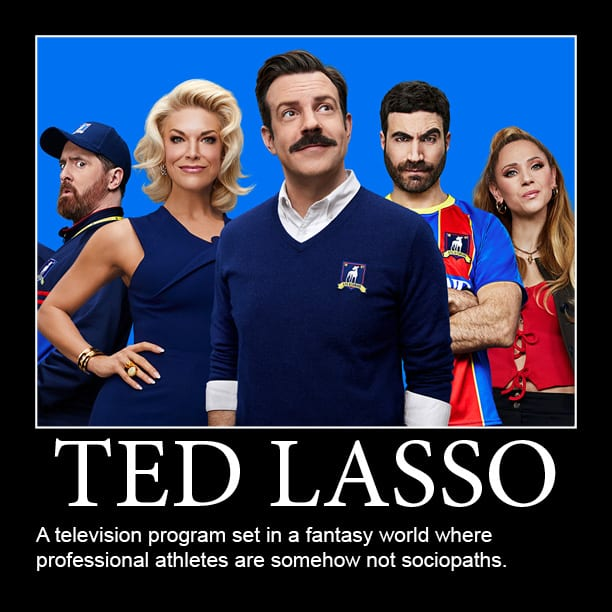 ted lasso series memes
